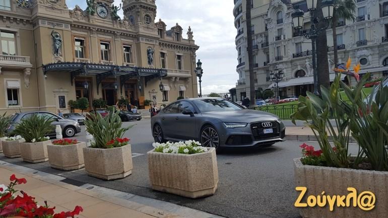 Audi RS 7 σε χρώμα ανθρακί ματ...