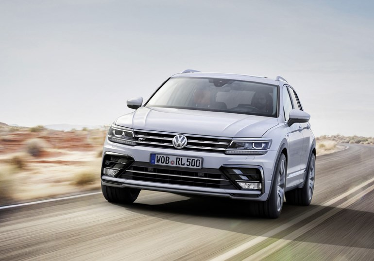 No3: VW Tiguan