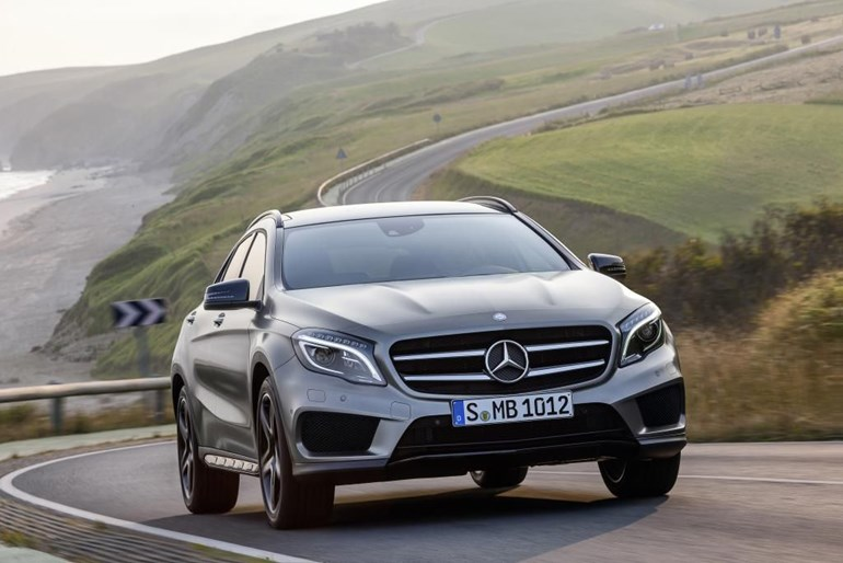 No4: Mercedes GLA