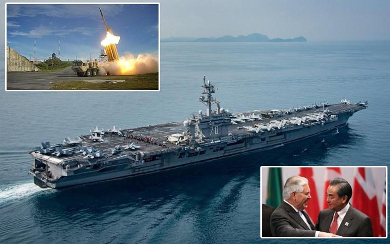 Ένθετες: Αντιπυραυλικό σύστημα THAAD - Οι υπουργοί Εξωτερικών ΗΠΑ και Κίνας