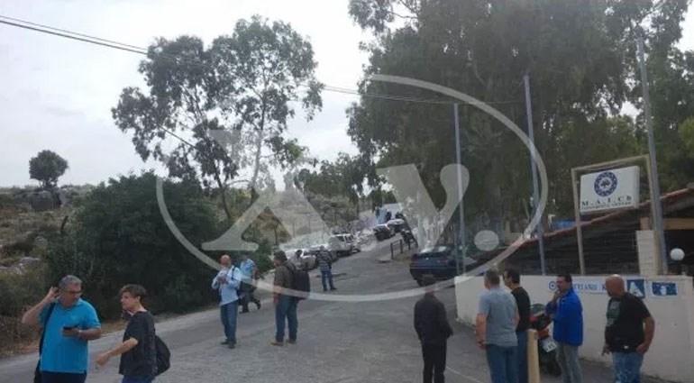 Σε συναγερμό έχουν τεθεί ισχυρές αστυνομικές δυνάμεις στα Χανιά