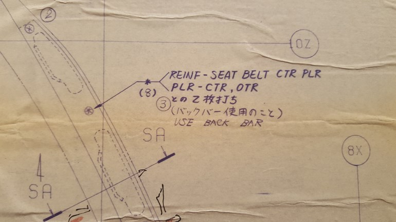 Τα συγκεκριμένα χαρτιά πάνω στα οποία ζωγράφισε η Ντένη Θεοχαράκη χρησιμοποιούνταν για την συναρμολόγηση των αυτοκινήτων στο Βόλο!