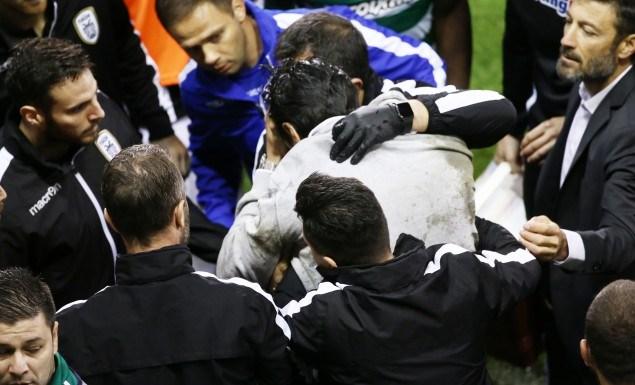 Ο Βλάνταν Ίβιτς σφαδάζει από τους πόνους