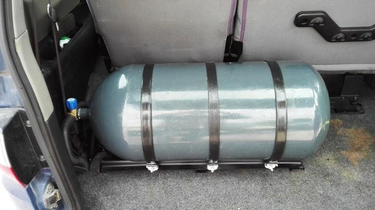 Η μπουκάλα του φυσικού αερίου