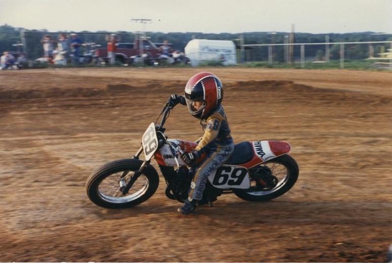 Το dirt track ήταν η αδυναμία του από μικρό παιδί