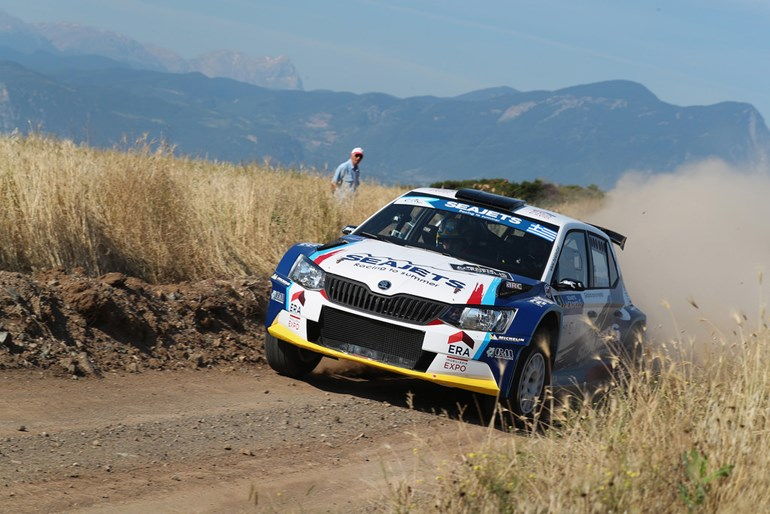 O Bruno Magalhaes τερμάτισε δεύτερος αλλά παρέμεινε στην κορυφή της βαθμολογίας του ERC