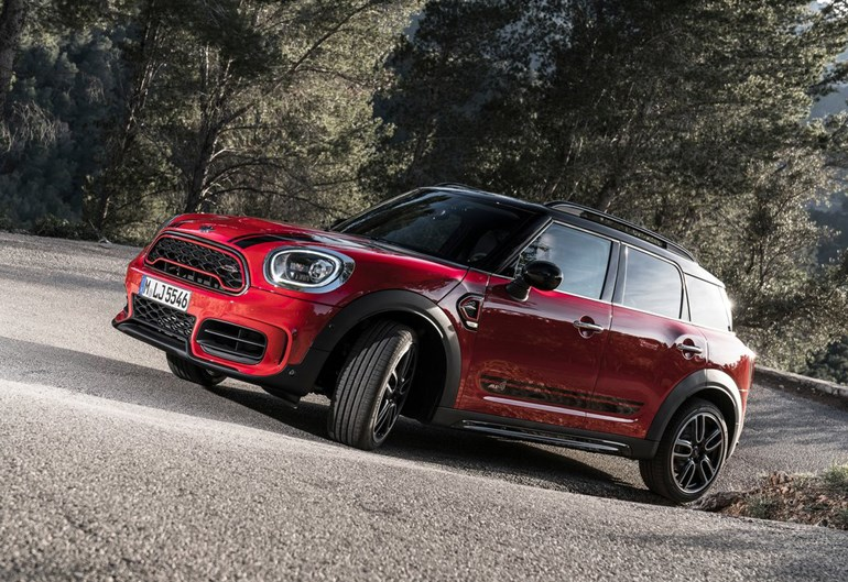 Το MINI Countryman JCW