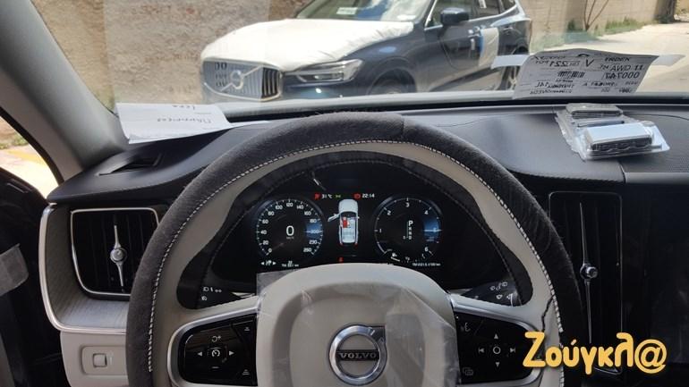 Ο κλασικός πίνακας οργάνων των σύγχρονων Volvo