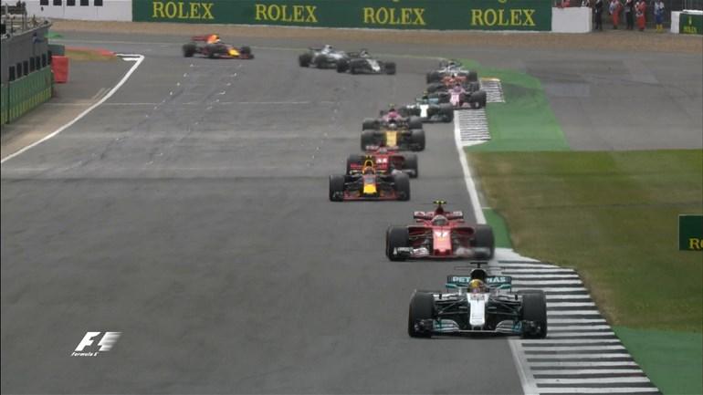 O Hamilton ξεκίνησε πρώτος και ολοκλήρωσε τον αγώνα στην ίδια θέση... Και όπως αποδείχτηκε πολύ εύκολα