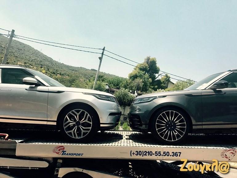 Συνολικά τρία Range Rover Velar ήρθαν στην Ελλάδα. Για... αρχή!