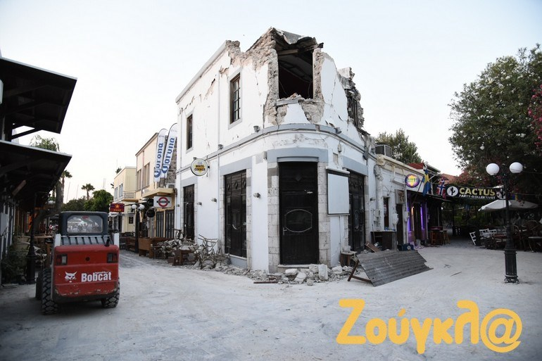 Τα πιο παλιά κτήρια υπέστησαν καταστροφές