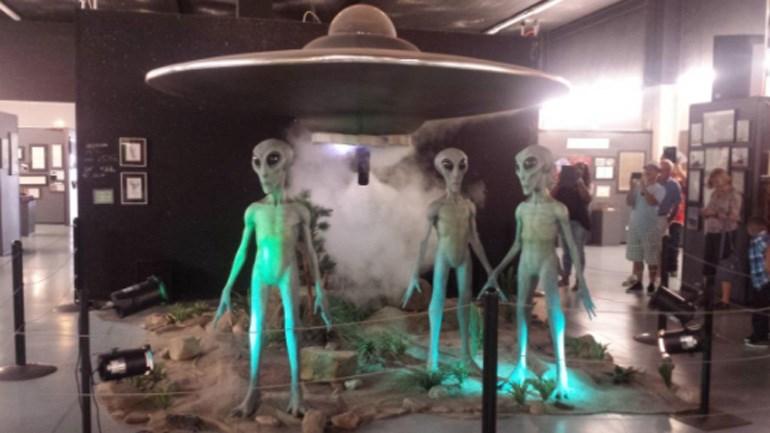 Aπό το UFO μουσείο του Ρόσγουελ
