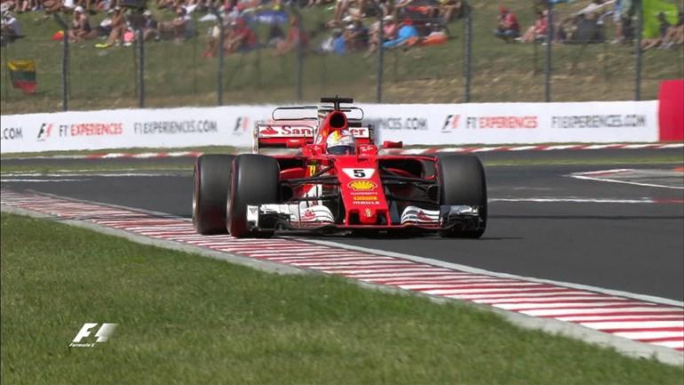 O Sebastian Vettel με Ferrari ήταν ο μεγάλος νικητής στο γκραν πρι της Ουγγαρίας και με τους βαθμούς που απέσπασε διατηρήθηκε στην κορυφή του βαθμολογικού πίνακα