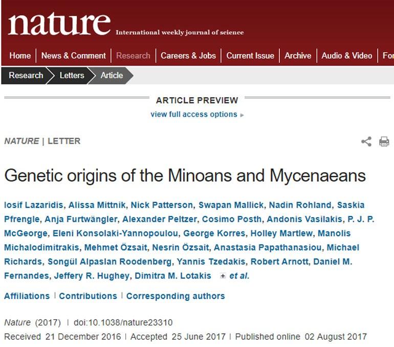 Η δημοσίευση στο επιστημονικό περιοδικό. Για να τη διαβάσετε κάντε κλικ στην εικόνα