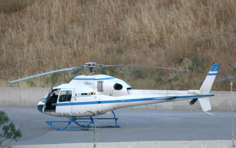 To ελικόπτερο που χρησιμοποίησε ο Β. Παλαιοκώστας