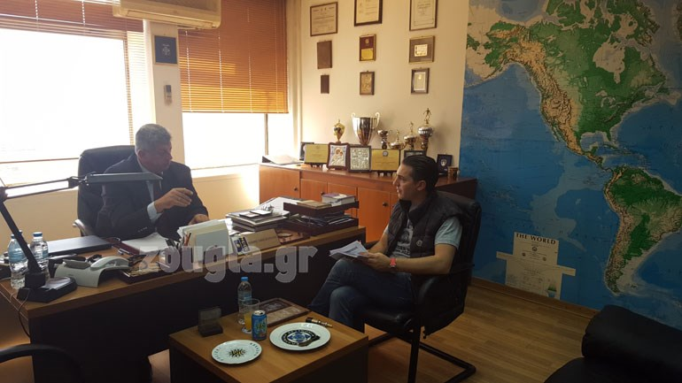 O προϊστάμενος της Δίωξης Κωνσταντίνος Παναγιωτόπουλος εξηγεί στο zougla.gr τους δρόμους των ουσιών προς την Ελλάδα