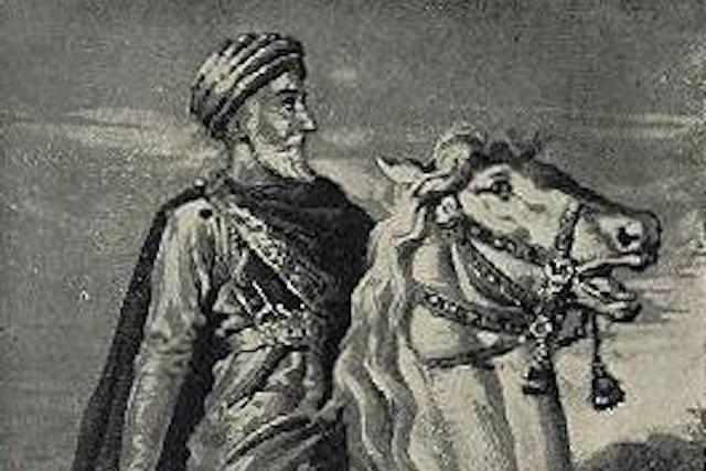 Ο ιδρυτής του τάγματος των Ασασίνων, Χασάν-ι-Σαμπάχ