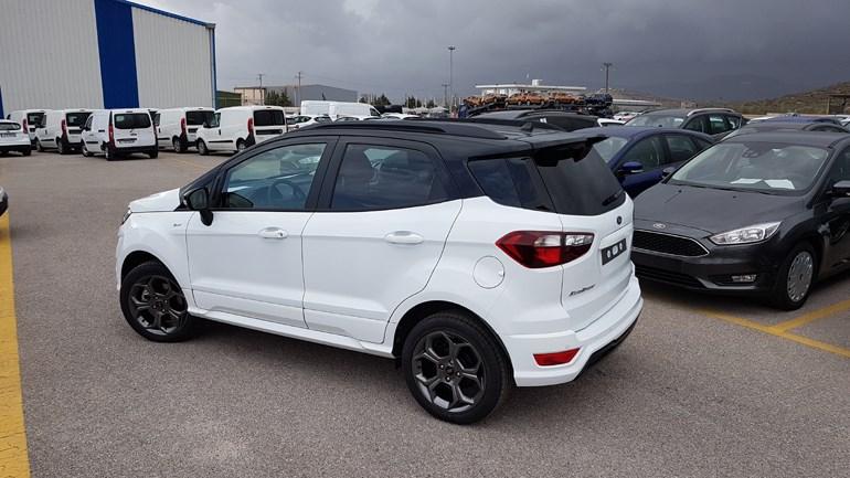 Μικρό αλλά... αγριεμένο το νέο Ford Ecosport (στο βάθος βλέπετε την καταιγίδα να πλησιάζει!)