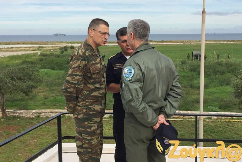 Οι αρχηγοί του Στρατού, της Αεροπορίας και του Ναυτικού, συμφωνούν ότι η διακλαδικότητα είναι μονόδρομος ώστε να επιτευχθεί η μέγιστη επιχειρησιακή αποτελεσματικότητα