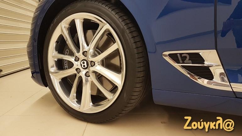 Ζάντες αλουμινίου 22 ιντσώνα και ελαστικά της Pirelli...