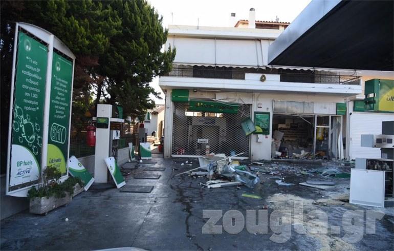 Μεγάλες οι ζημιές που προκλήθηκαν από την έκρηξη