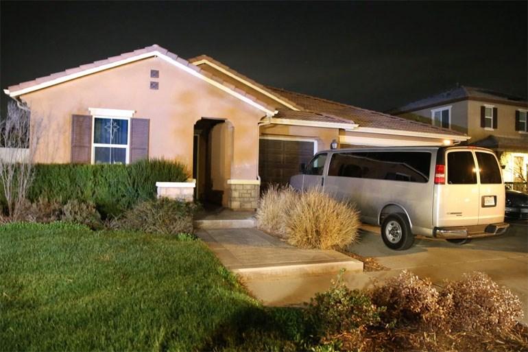 To σπίτι της οικογένειας στην Καλιφόρνια