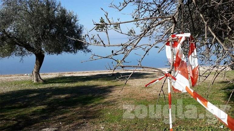 Το σημείο όπου βρέθηκε νεκρή η 44χρονη