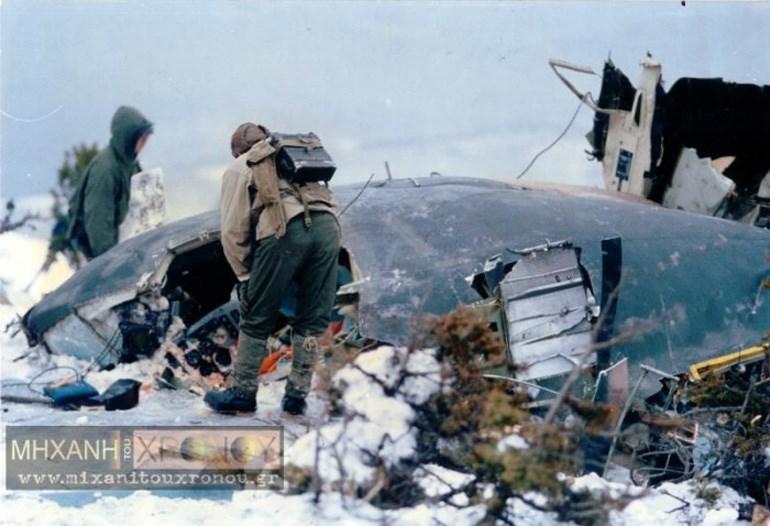 Οι έρευνες για τον εντοπισμό του αεροσκάφους κράτησαν 4 ημέρες. Φωτογραφία Σπύρου Τσακίρη