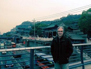 Στο πανεπιστήμιο του Lanzhou όπου είναι Επίτιμος Καθηγητής