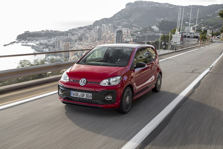 To VW up! GTI