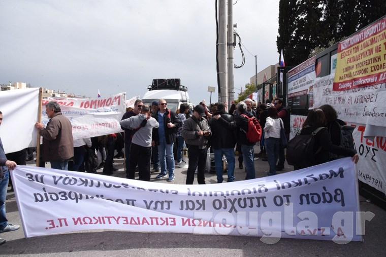 Εισβολή φοιτητών στο Υπουργείο Παιδείας Image