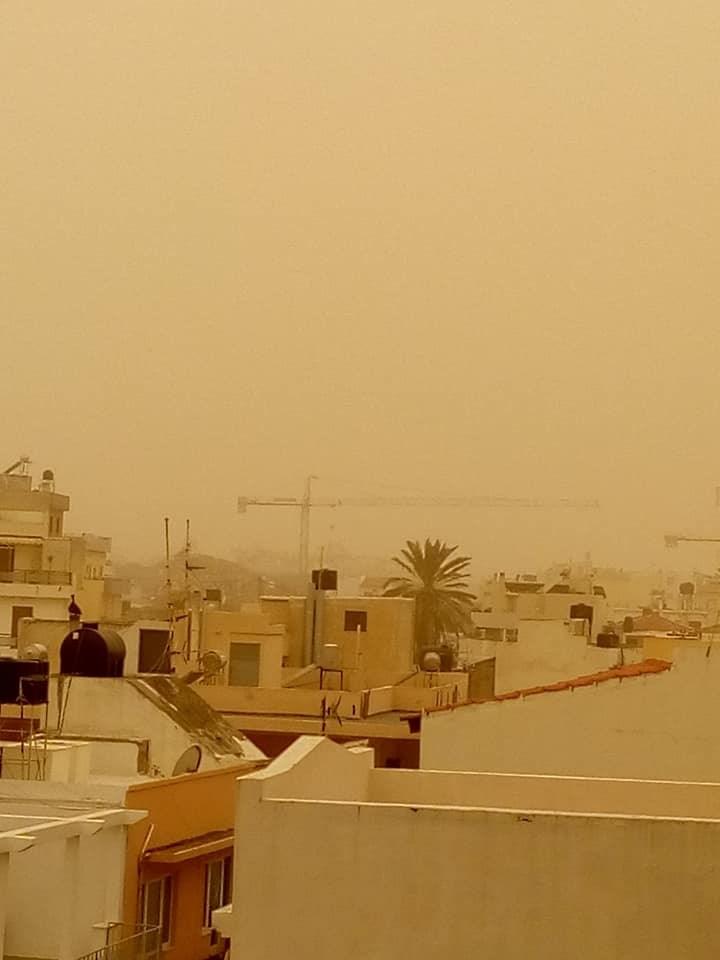 Εφιαλτικό σκηνικό Σαχάρας στην Κρήτη Image