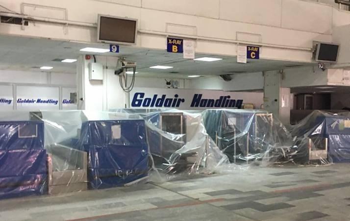 Αεροδρόμιο Ηρακλείου: Έρχονται οι τουρίστες, φεύγουν οι σκαλωσιές Image