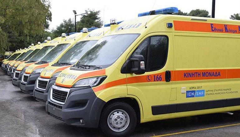 Συνολικά 143 καινούργια ασθενοφόρα παρέλαβε από το Ίδρυμα Σταύρος Νιάρχος το ΕΚΑΒ