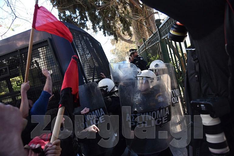 Επεισόδια στο πανεκπαιδευτικό συλλαλητήριο Image