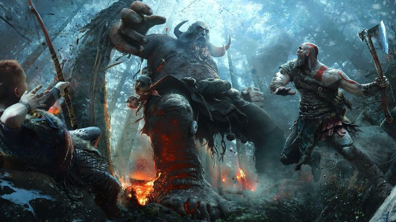 To God of War κυκλοφορεί στις 20 Απριλίου για PlayStation 4
