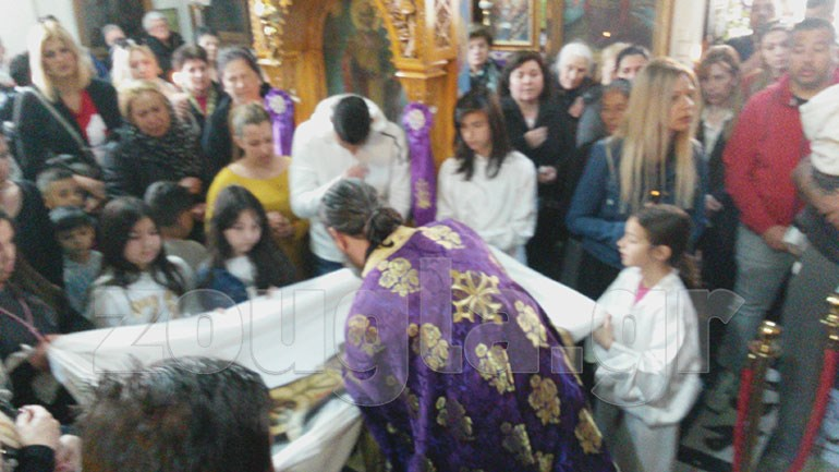 Η Αποκαθήλωση στον Άγιο Νικόλαο Κορυδαλλού  Image