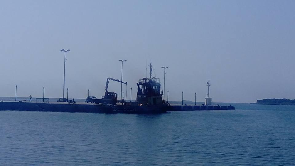 Ρύπανση στη θάλασσα της Ιτέας Φωκίδας από πετρελαιοειδή πλοίου μεταφοράς βωξίτη Image