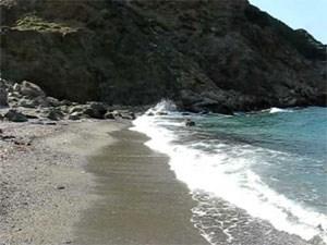 Η παραλία Ξανέμου