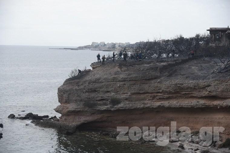 Οι 26 άνθρωποι εγκλωβίστηκαν καθώς δεν μπορούσαν να διαφύγουν από το σημείο
