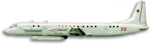 Το ILYUSHIN IL-20 είναι ένα ρωσικής κατασκευής τετρακινητήριο  αεροσκάφος αναγνώρισης. Έχει μέγιστη ταχύτητα 410 μίλια την ώρα και ακτίνα δράσης  3.540 χιλιόμετρα. Μπορεί να φέρει φορτία 35 τόνων .