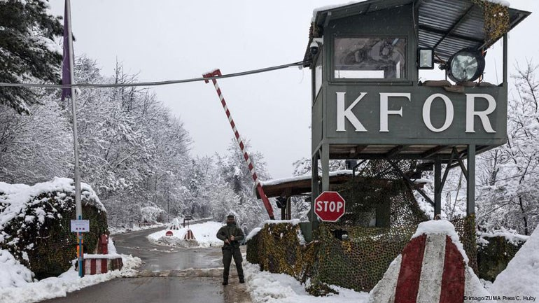 H KFOR ανέλαβε να διαφυλάξει την ασφάλεια του Κοσσυφοπεδίου μετά τον πόλεμο