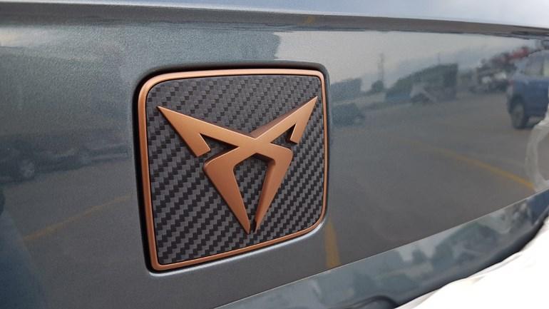 To λογότυπο της CUPRA