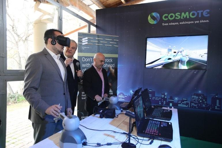 Το πρώτο δοκιμαστικό δίκτυο 5G στην Ελλάδα από την COSMOTE