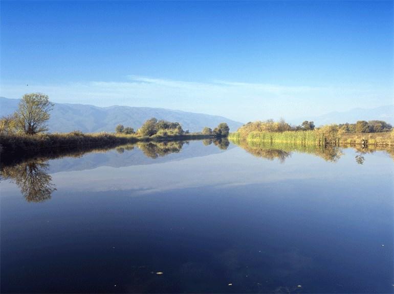 Ο ποταμός Πηνειός