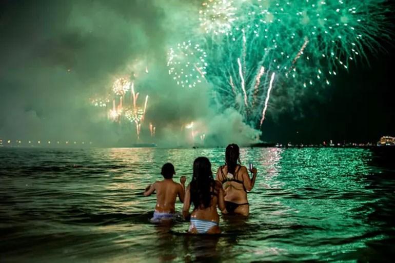 Η διάσημη παραλία της Κόπα Καμπάνα