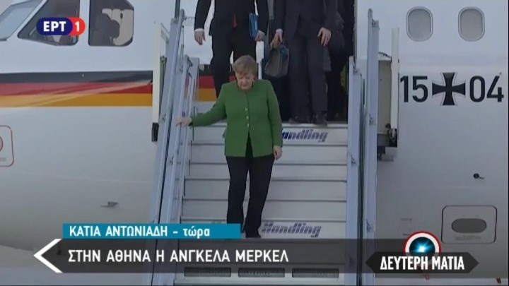 Welcome back, madame Merkel image
