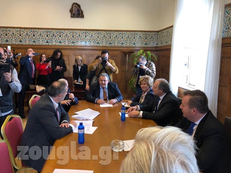Η πρόσφατη σύσκεψη της Κοινοβουλευτικής Ομάδας των ΑΝΕΛ