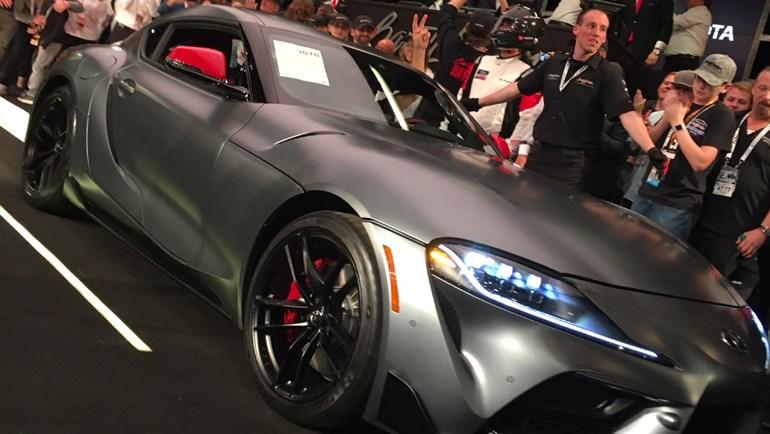 Η πρώτη Toyota Supra πουλήθηκε 2,1 εκατομμύρια δολάρια...