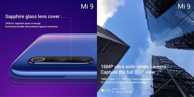 All features of the Xiaomi Mi 9 – neuck